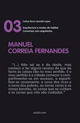 """Manuel Correia Fernandes – colecção """"Conversas com arquitectos"""""""
