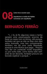 """Bernardo Ferrão – colecção """"Conversas com arquitectos"""""""