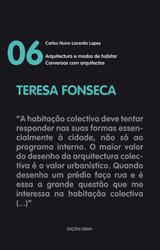 """Teresa Fonseca – colecção """"Conversas com arquitectos"""""""